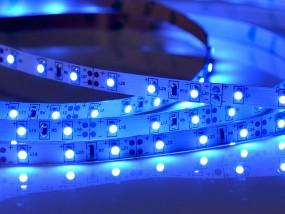 LED-Streifen, 5m Rolle, 300 LEDs blau