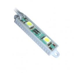 SMD SlimModul-Kette PVC 2x TriChip purweiß 6000-6500K 12V - super flach