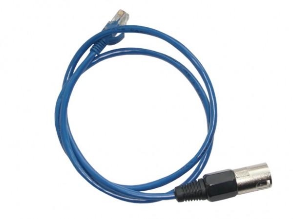 DMX Adapterkabel XLR3