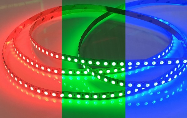 RGB LED-Streifen 96LEDs/m 24V 18,4W/m 5m Rolle