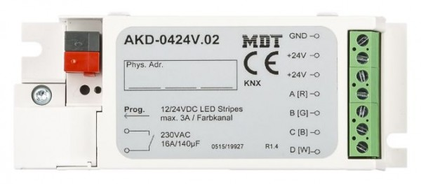 MDT 4-Kanal KNX RGBW LED Controller 12/24V