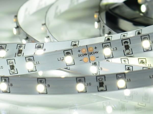 LED-Streifen, 5m Rolle, 300LEDs purweiß CRI>80 24V