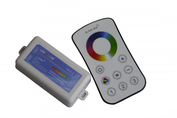 RGBW Funkcontroller 2.4G 12-24V, max. 4x3A