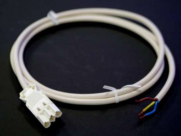 Netzanschlusskabel 2m mit Wieland-Stecker