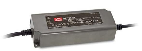 Möbeleinbaunetzteil 12V, 90W, 7,5A, F, MM, IP67