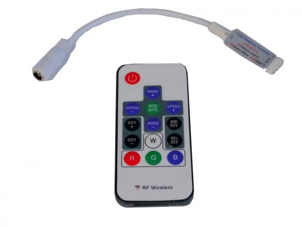 Mini LED Lauflicht Controller mit Funk-Fernbedienung