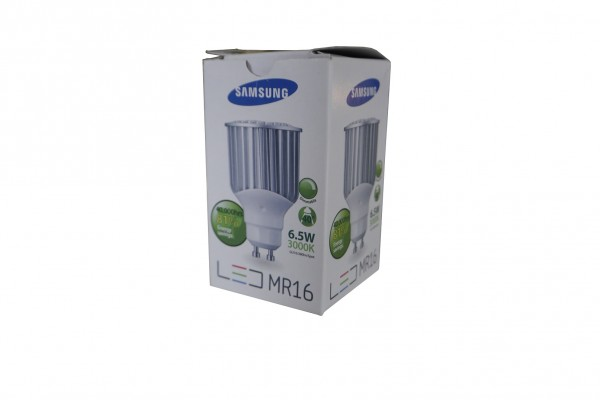 LED MR16 Samsung, 6,5W, 3000K