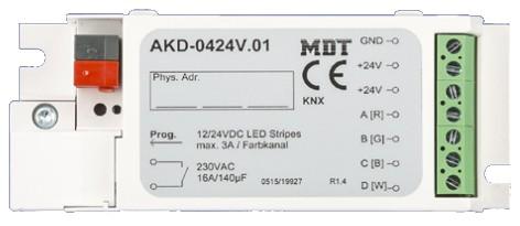 MDT 3-Kanal KNX RGB LED Controller 12/24V