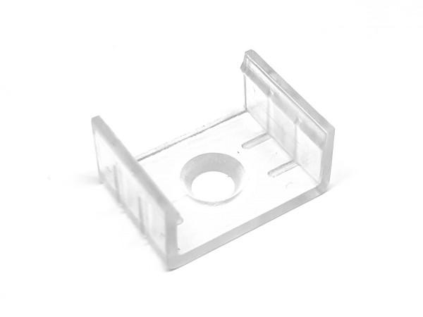 Befestigungsclip LED-Alu-Profil C-Line Polycarbonat