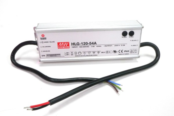 Meanwell HLG-120-54A Netzteil 54V, 120W, F, MM, IP65