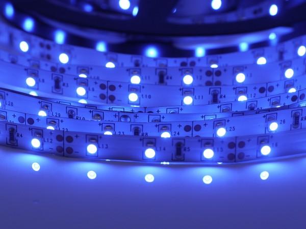 LED-Streifen 60LEDs/m, blau 24V 5m Rolle