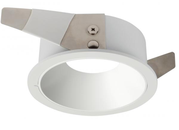 LED Einbaumodul starr weiß rund