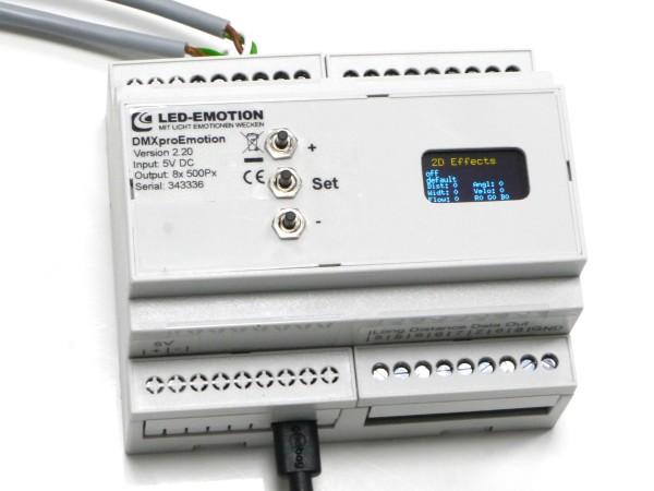 XQproEmotion LED-Lauflicht Controller DMX
