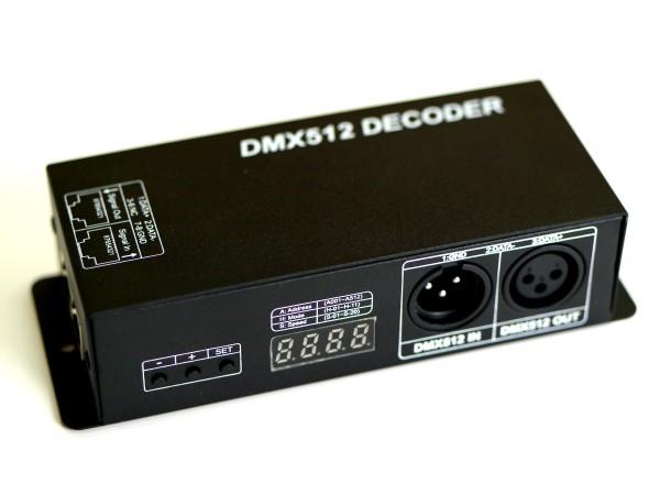DMX-Decoder 3x5A