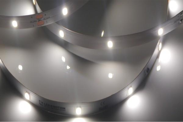 Premium Backlight LED-Streifen, 5000K tageslichtweiß, 28LEDs/m 24V, 5m Rolle