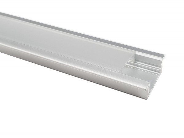 LED-Alu-Profil C-Line flach, Einbau