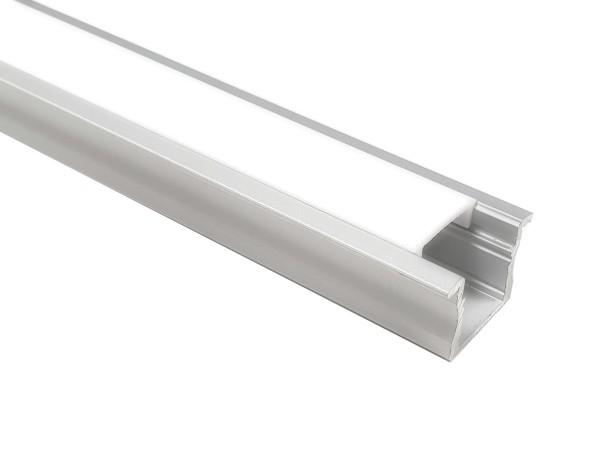 LED-Alu-Profil C-Line medium Einbau