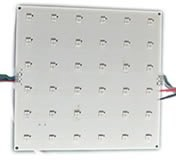 LED-DMX-Panel 150x150mm² 32 Pixel RGB