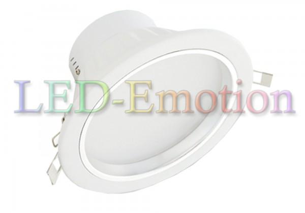12W LED Einbauleuchte rund warmweiß dimmbar 48V