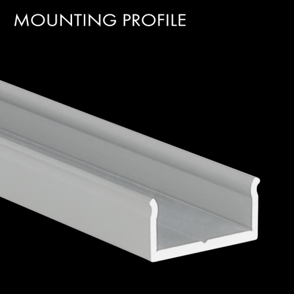 Mountingprofile S-Line Wall