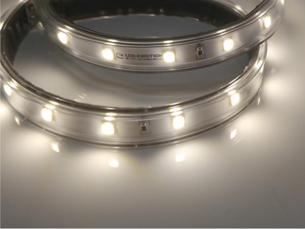Eco-Line LED-Streifen, 4000K neutralweiß, 1089lm/m, 7,7W/m, 56LEDs/m, in PVC-Hülle, 24V, 5m Rolle