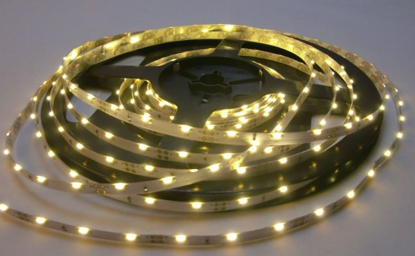 LED-Streifen Side-View 300 LEDs, 5m Rolle, warmweiß 12V