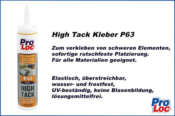 Montagekleber HighTack P63 ProLoc 290ml