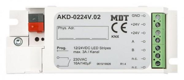 MDT 2-Kanal KNX DualWhite LED Controller 12/24V