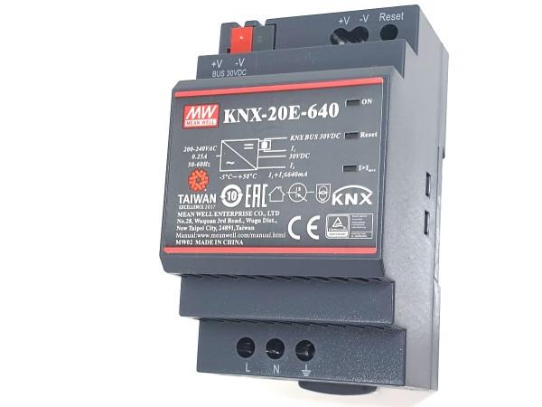 KNX Netzteil MeanWell KNX-20E-640 Busversorgung