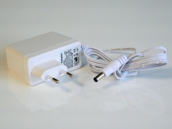 Steckernetzteil 12V 2A 24W eco-friendly, weiß