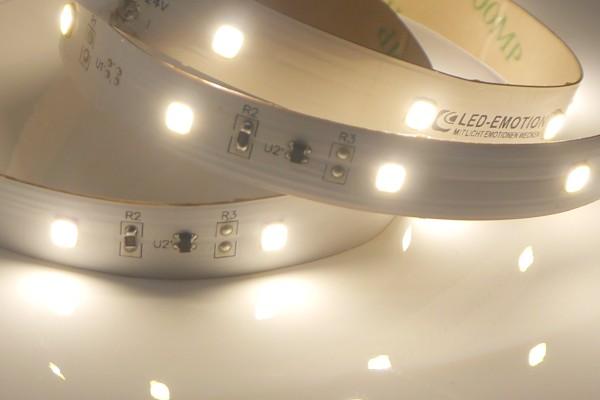 Premium LED-Streifen, 4000K neutralweiß, 1176lm/m, 8,6W/m, 42LEDs/m, 24V, 5m Rolle