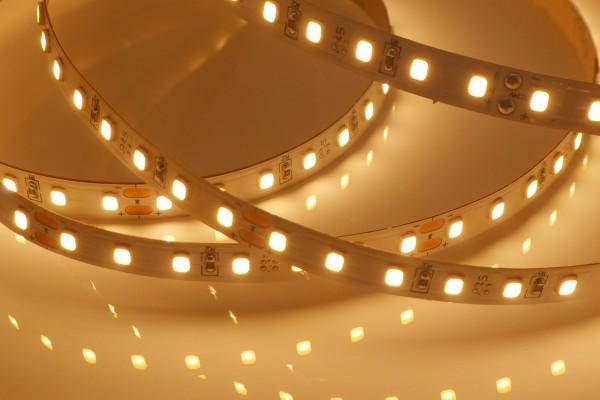 Eco-HD LED-Streifen, 2700K warmweiß 1200lm/m, 11,5W/m, 112LEDs/m, 5m Rolle, 24V