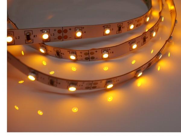 LED-Streifen 60LEDs/m, gelb 12V