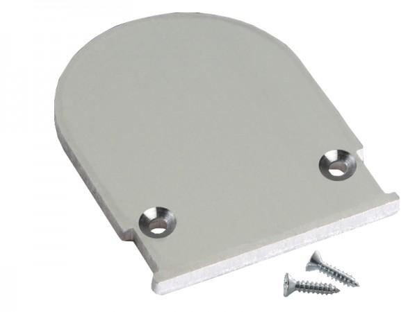 Endkappe M-Line Flach rund