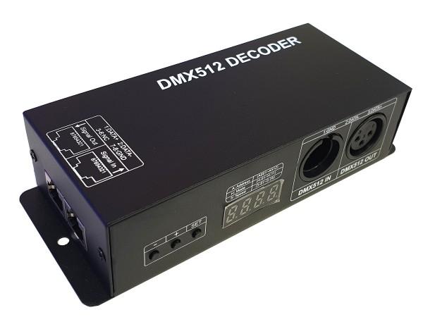 RGB-DMX-Decoder 3x4A = 12A max.