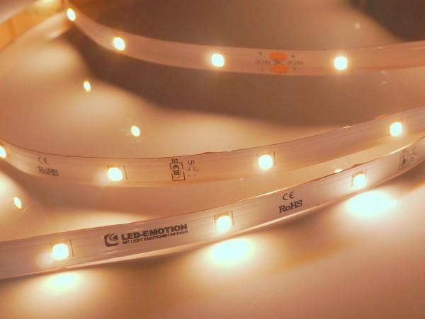 Eco Backlight LED-Streifen, 2700K warmweiß, 564lm/m, 3.8W/m, 28LEDs/m, 24V
