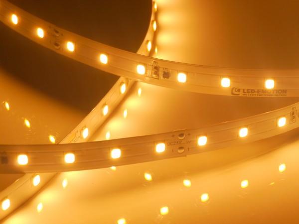 Premium BasicLine LED-Streifen, 2300K candlelight-warmweiß, 972lm/m, 9,6W/m, 70LEDs/m, 24V