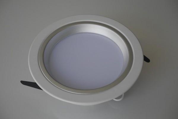 14W LED Einbauleuchte rund warmweiß 230V