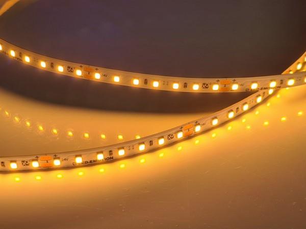 Eco-HD LED-Streifen, 2300K candlelight-warmweiß, 1100lm/m, 11.5W/m, 112LEDs/m, 24V
