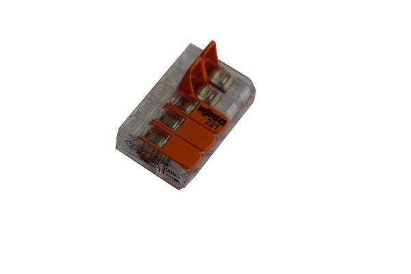 Verbindungsklemmen 5polig 0,08-4mm² Wago
