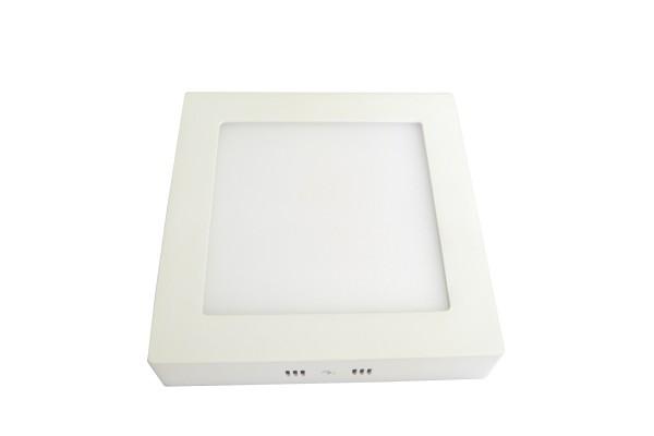 10W Slim LED-Aufbauleuchte quadratisch warmweiß