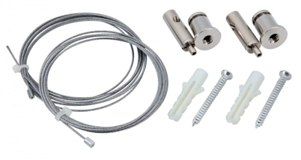 Seilabhängungs-Set für Aluminiumprofile