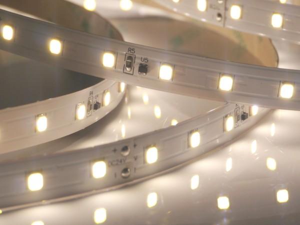 Premium BasicLine LED-Streifen, 4000K neutralweiß, 1361lm/m, 9,6W/m, 70LEDs/m 24V, 5m Rolle