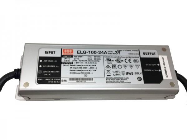 LED-Möbeleinbaunetzteil 24V DC, 100W, 4,0A, IP65