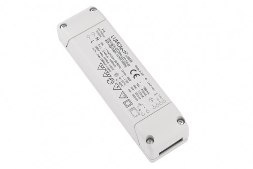 LED Möbeleinbaunetzteil 40W 350-1050mA Konstantstrom dimmbar