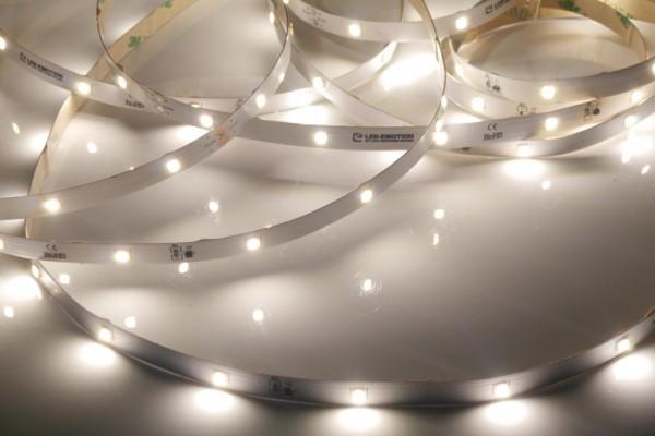 Eco Backlight LED-Streifen, 4000K neutralweiß, 784lm/m, 5,8W/m, 28LEDs/m, 24V, 10m Rolle