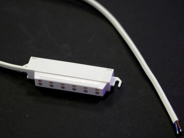 6-fach Adapterterminal weiß Mini-Mate