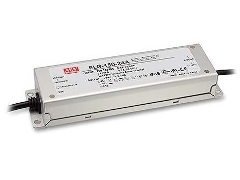 LED-Möbeleinbaunetzteil 12V DC, 120W, 10A MM, IP65, ENEC
