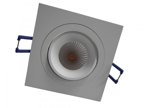 LED-Strahler schwenkbar, quadratisch, weiß