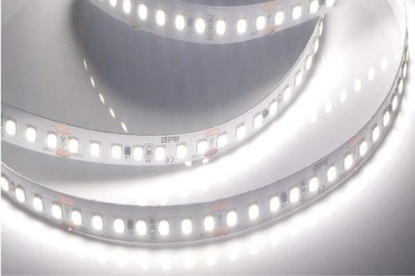 Premium+ HD LED-Streifen, 5200K tageslichtweiß CRI>90, 2819lm/m, 19.2W/m, 140LEDs/m, 24V
